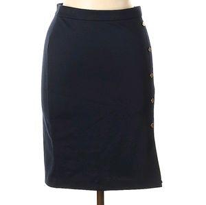 NWOT Navy Pencil Skirt